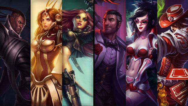 Photo of League Of Legends champion and skin sale