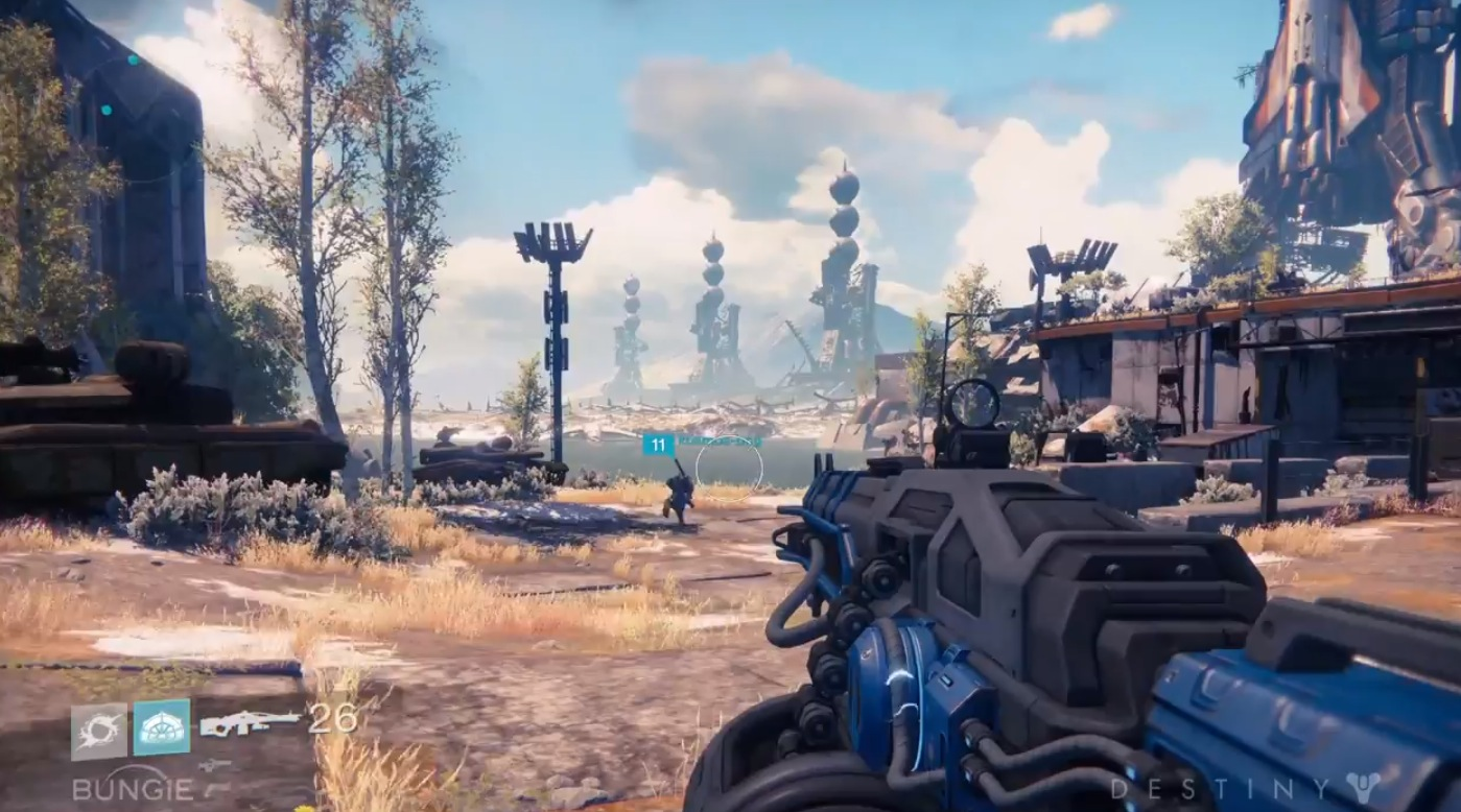 """Photo of New Gameplay trailer for """"Destiny"""" shows 'the devil's lair'"""