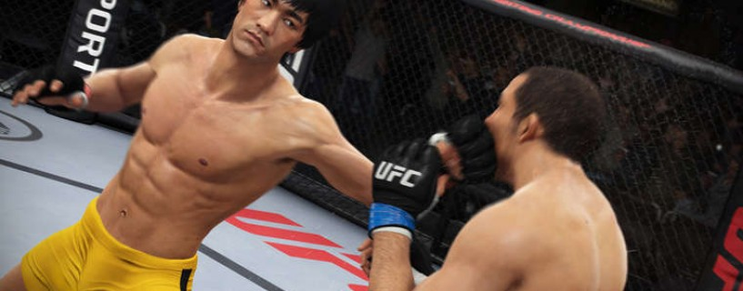 "New trailer for EA Sports UFC shows legend ""Bruce Lee"" in action"