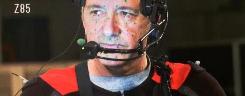 """صورة للممثل """"كيفن سبيسي"""" من كواليس Call of Duty: Advanced Warfare"""