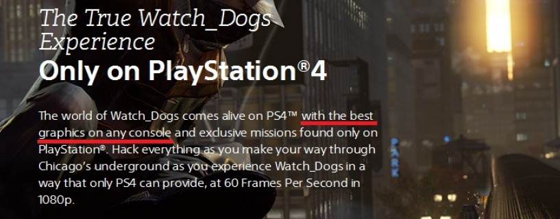 سوني بثقة: Watch Dogs على PS4 ستكون أفضل نسخ الكونسول