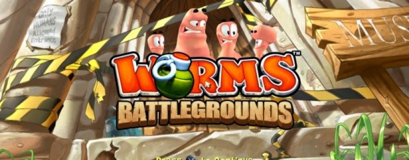 عرض جديد للعبه worms battlegrounds