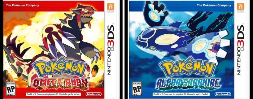 """الإعلان عن جزئي بوكيمون جديدين ، """"Omega Ruby"""" و """"Alpha Sapphire"""""""