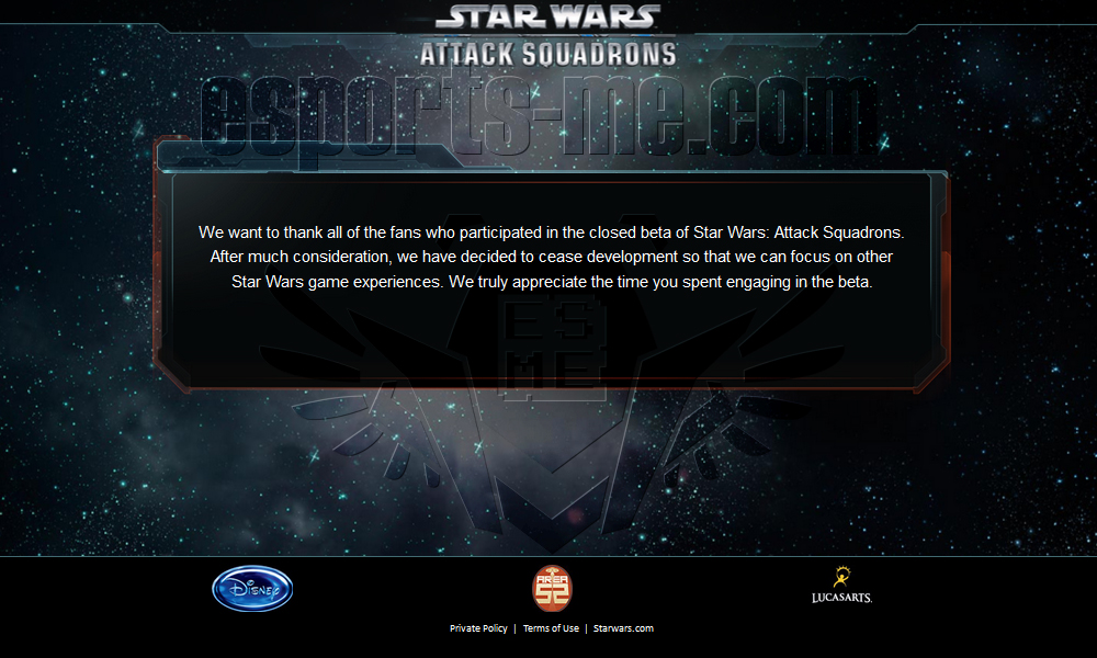 Photo of Disney تقرر إيقاف لعبة Star Wars : Attack Squadrons