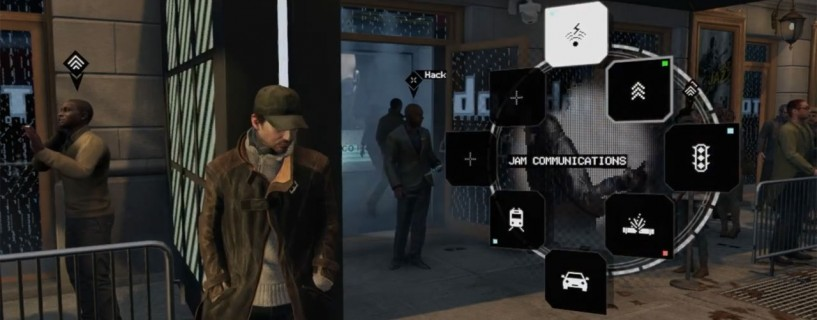 Leaked pictures of the map and the main menu of the game Watch Dogs