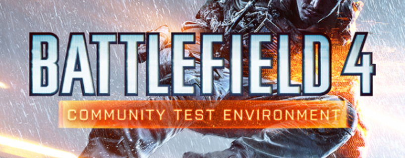 إطلاق Battlefield 4 Community Test Environment