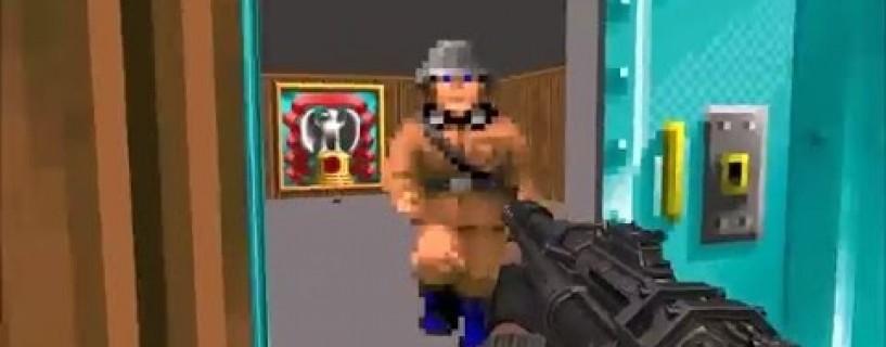 Wolfenstein: The New order has a wolfenstein 3D easter egg , find it here