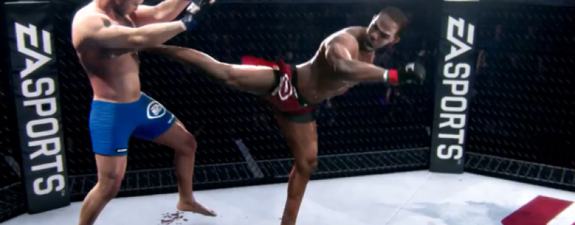 Hilarious Glitch sends UFC fighter in air in this video
