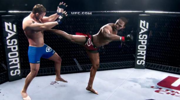 Photo of Glitch مثير للضحك يرسل مقاتل UFC في الهواء في هذا الفيديو