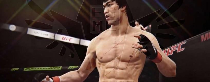 عرض دعائي للعبة UFC في فعاليات معرض E3