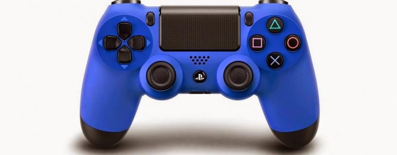 ذراع التحكم الزرقاء لجهاز PlayStation 4 قادمة قريبًا للأسواق