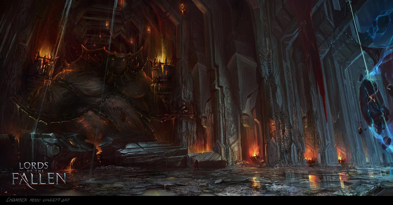 Photo of Some cinematic images from Lords Of Fallen