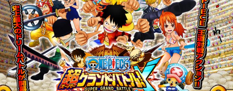 One Piece: Super Grand Battle! X Website Launches