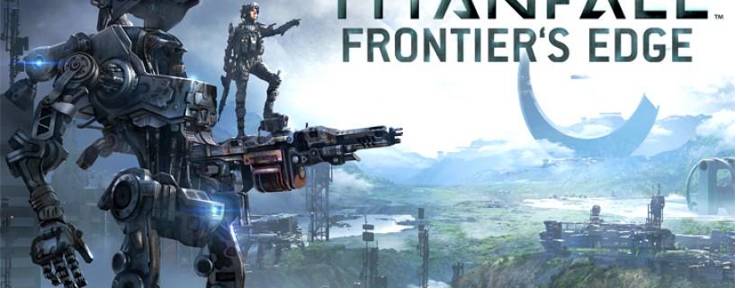 مجموعة من الصور لخرائط المحتوى القابل للتحميل الجديد Frontier's Edge  للعبة Titanfall