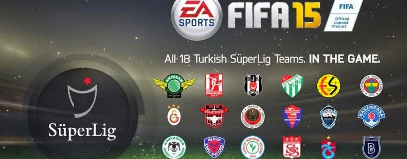 Turkish Süper Lig Licensed in FIFA 15