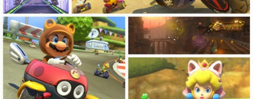 الكشف عن بعض المحتويات الجديدة القابلة للتحميل للعبة Mario Kart 8
