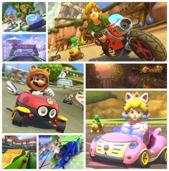 Photo of الكشف عن بعض المحتويات الجديدة القابلة للتحميل للعبة Mario Kart 8