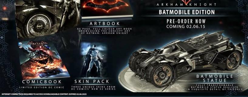الكشف رسميًا عن موعد إصدار Batman: Arkham Knight مع نسختين خاصّتين لها