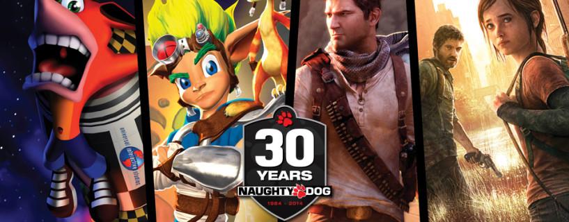 فيديو تشويقي لـ Naughty Dog احتفالاً ببلوغها الثلاثين عاماً