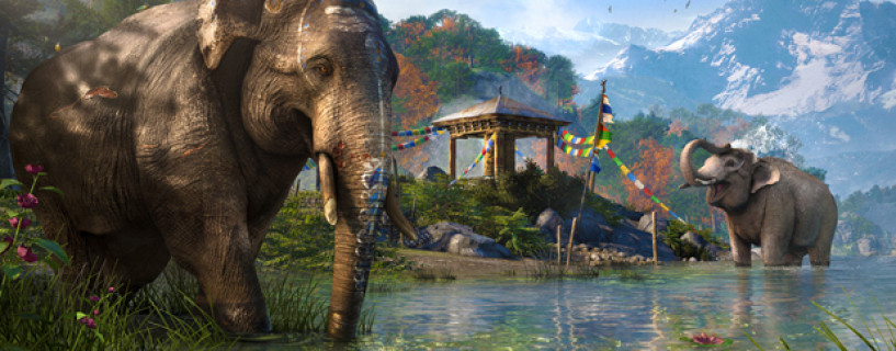 عرض جديد لـ Far Cry 4 يظهر الفيلة في اللعبة
