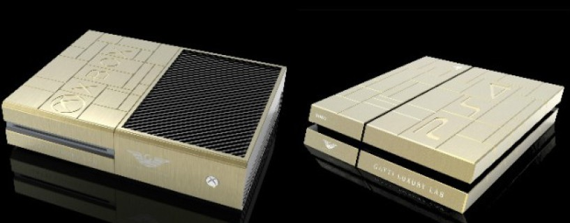 Gold Xbox One and PS4 shown at GAMES14