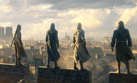Photo of Assassin's Creed Unity gets a TV cinematic trailer