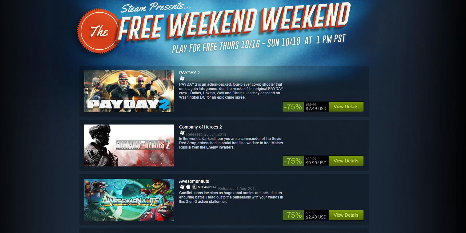 Photo of إلعب 10 ألعاب مجانا على متجر Steam في نهاية هذا الاسبوع