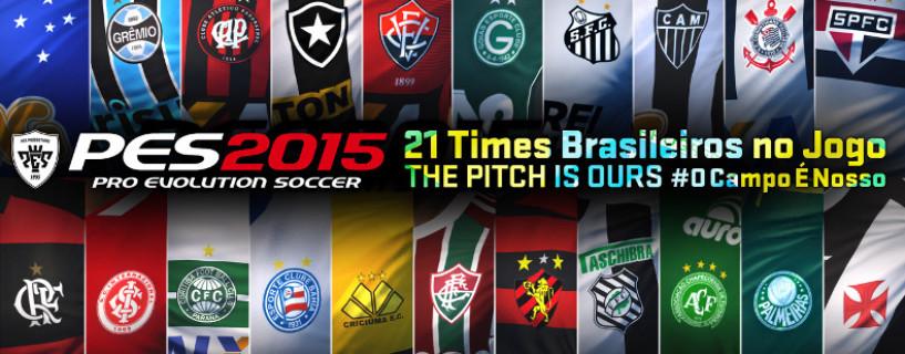 الأندية البرازيلية قادمة للعبة PES 2015