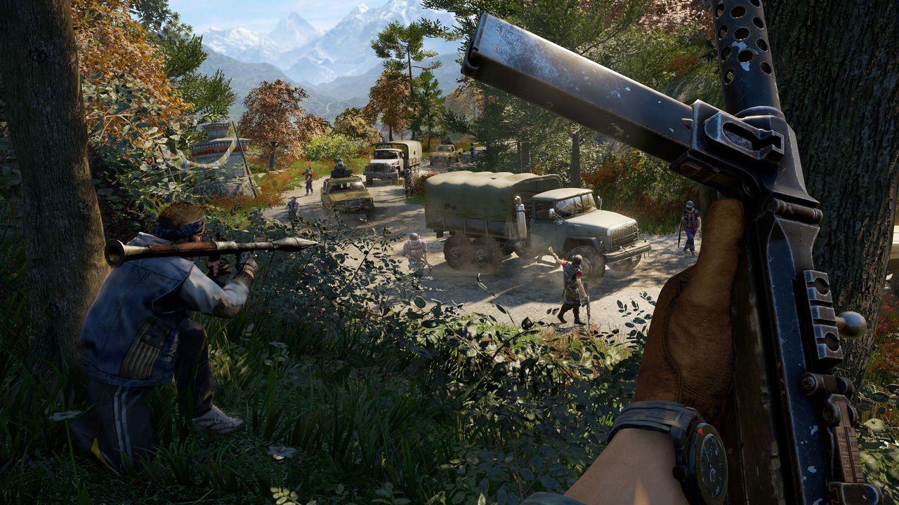Photo of العرض الدعائي الأول لنمط اللعب الجماعي في Far Cry 4