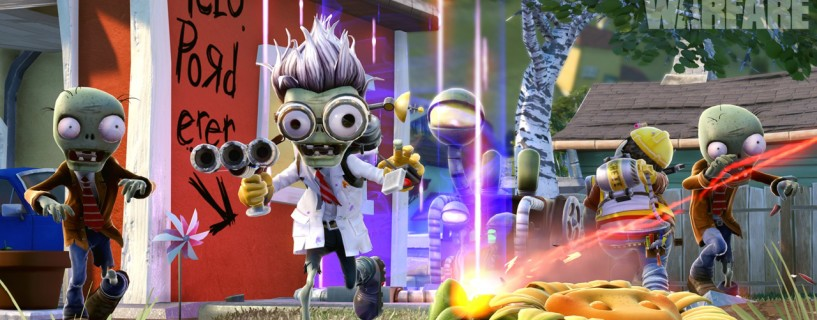 Plants vs. Zombies Garden Warfare مجانية الآن لمشتركي خدمة EA Access