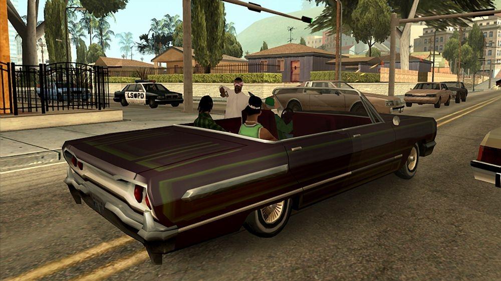Photo of Rockstar تعلن رسمياً عن GTA: San Andreas للأكسبوكس 360 مع حفنة من الصور