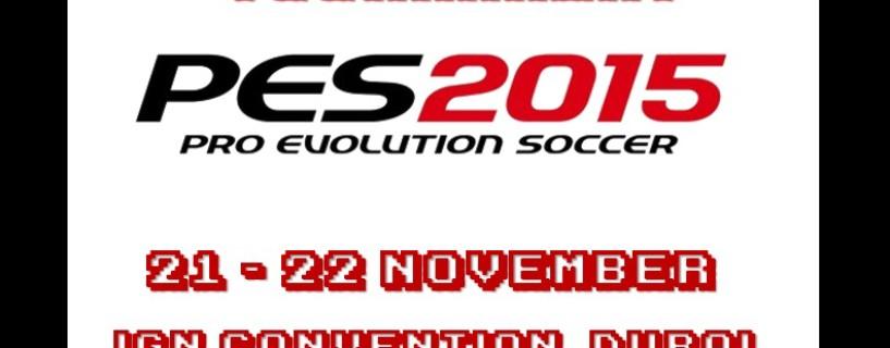 1st PES 2015 tournament by ESME