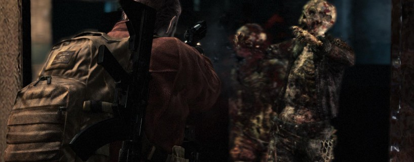 Barry Burton returns for the first time as a playable character in Revelations 2