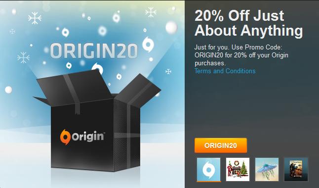 Photo of احصل حاليا على تخفيض بنسبة 20% على متجر Origin
