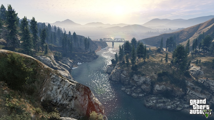 Photo of Astonishing video for GTA V shows its world on the span of 7 days