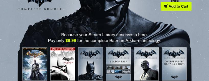كل ألعاب Batman Arkham بأقل من 10 دولارت
