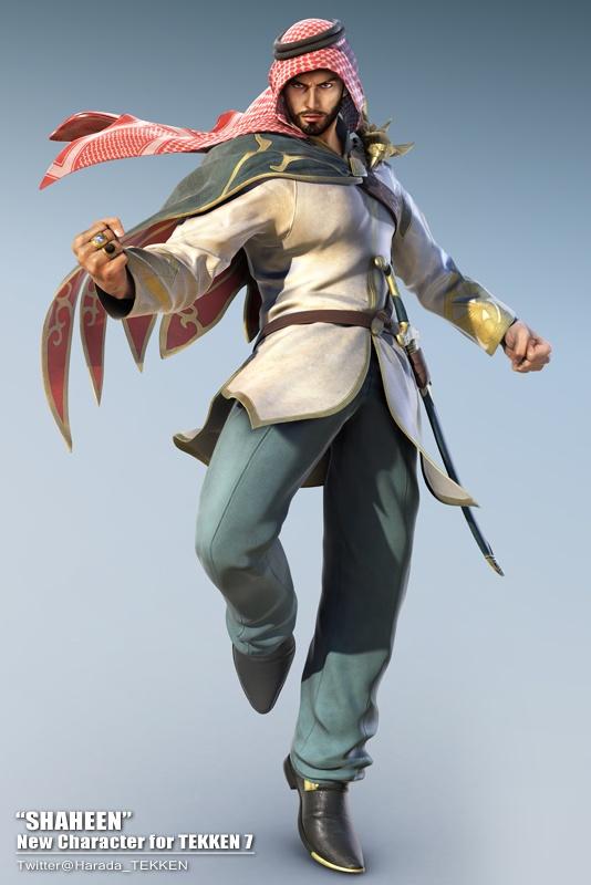 "Photo of الكشف عن شخصية ""شاهين"" للعبة Tekken 7"