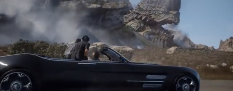 You won't be able to test the car in the upcoming Final Fantasy XV demo