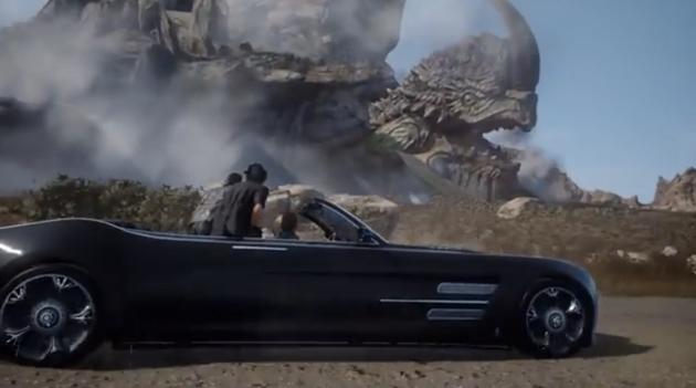 Photo of لن تستطيع قيادة السيارة في ديمو Final Fantasy 15