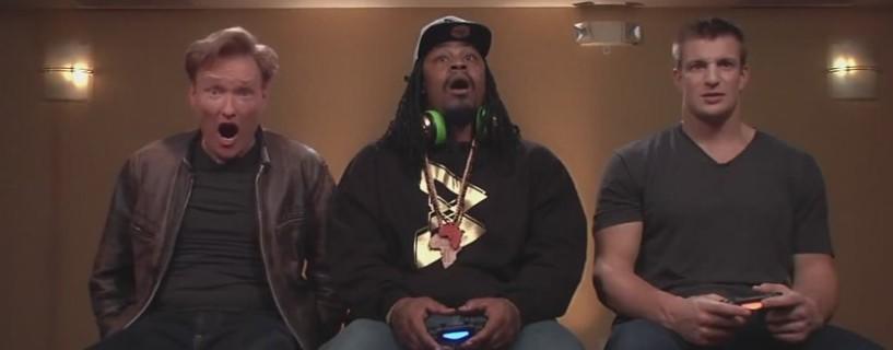 Watch Conan O'Brien's guests play the upcoming Mortal Kombat X