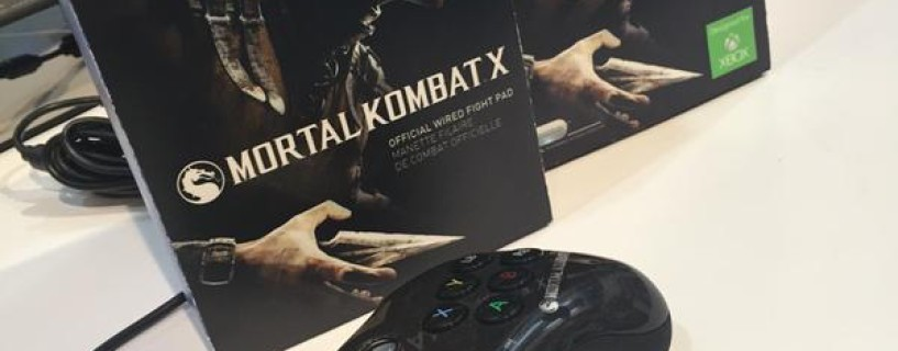 الكشف رسمياً عن يد تحكم Mortal Kombat X المخصصة