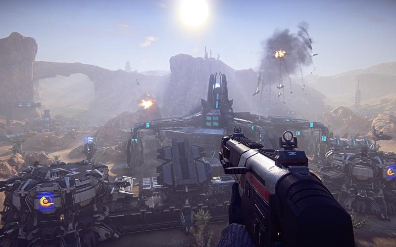 Photo of تحطيم الرقم القياسي في أضخم معركة من منظور الشخص الأول في Planetside 2