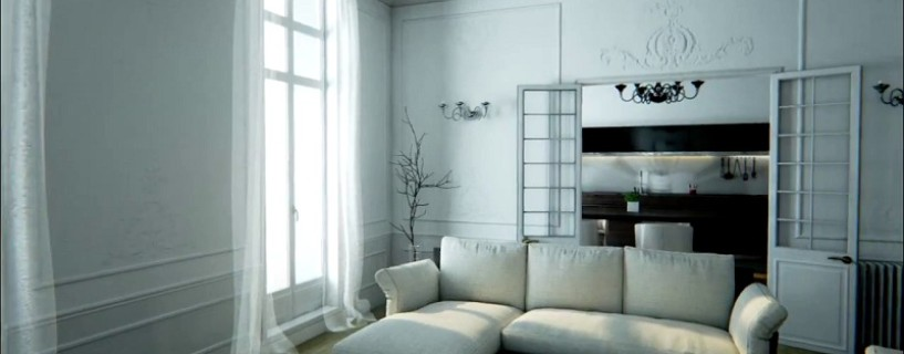 Have a look at this realistic flat made in Unreal Engine 4