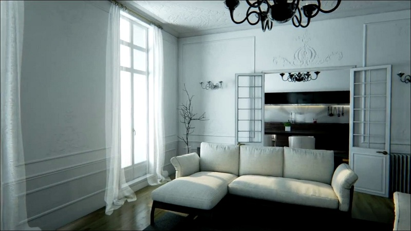 Photo of Have a look at this realistic flat made in Unreal Engine 4