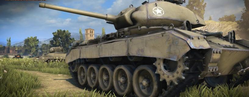 World of Tanks قادمة لمنصة الأكسبوكس ون