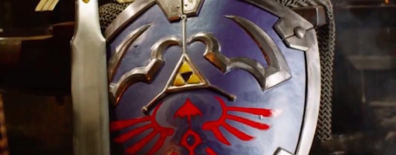 شاهد صناعة درع The Legend of Zelda على أرض الواقع