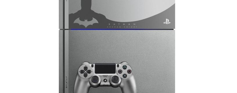 Batman: Arkham Knight custom PS4 revealed and a new trailer