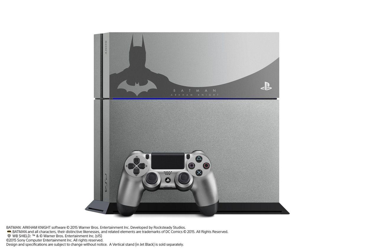 Photo of الكشف عن منصة البلايستيشن 4 المخصصة لـ Batman: Arkham Knight بالإضافة إلى عرض جديد