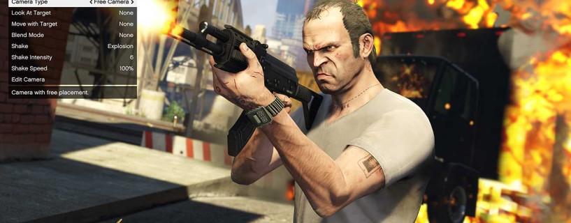 """ألقِ نظرة على """"Rockstar Editor""""، مُحرر مقاطع الفيديو الملتقطة الحصري لنسخة الحاسب من GTA V"""