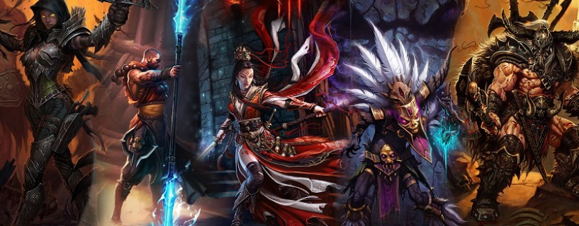 One player reaches the top level in Diablo III in one minute !